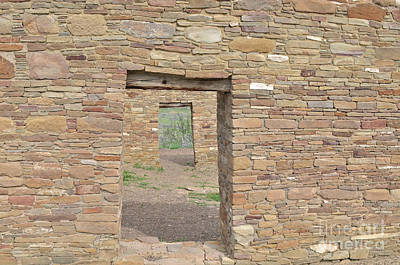 Photograph - Chaco Canyon Doors by Debby Pueschel