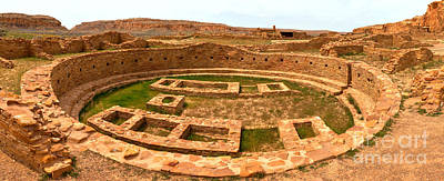 Photograph - Chaco Canyon Great Kiva by Adam Jewell