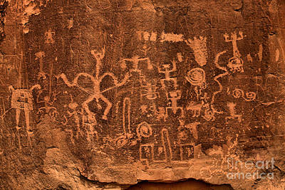 Photograph - Chaco Canyon Petroglyphs by Adam Jewell
