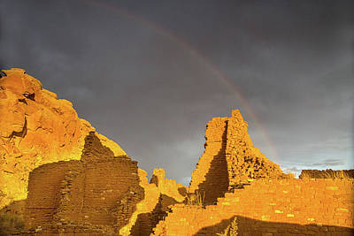 Photograph - Chaco Canyon Rainbow by Kunal Mehra