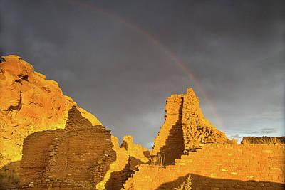 Photograph - Chaco Canyon Rainbow by Kunal Mehra