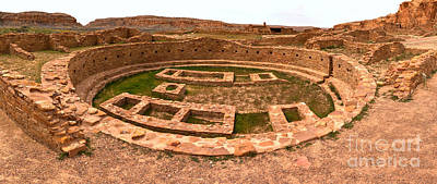 Photograph - Chaco Culture Grand Kiva by Adam Jewell