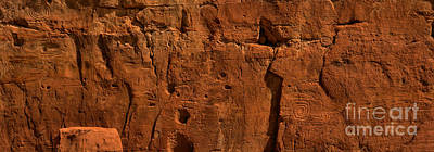 Photograph - Chaco Culture Petroglyph Panel by Adam Jewell
