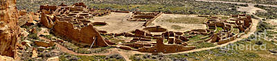 Photograph - Chaco Culture Pueblo Bonito by Adam Jewell