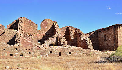 Photograph - Chaco Ruins by Debby Pueschel