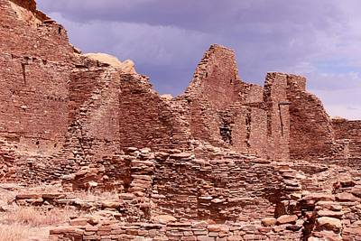 Photograph - Chaco Under Stormy Skies by Elizabeth Sullivan