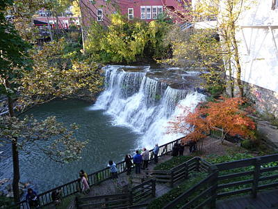 Chagrin Falls Art Print by Joel Deutsch