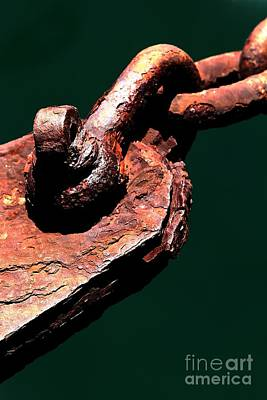 Photograph - Chain Age II by Stephen Mitchell
