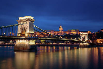 Photograph - Chain Bridge #1 by Michael Niessen