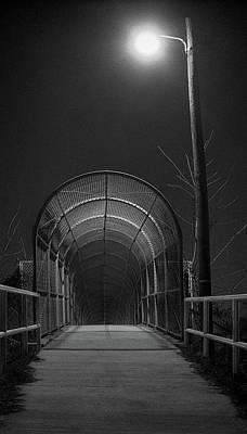 Photograph - Chain Bridge by Murray Bloom