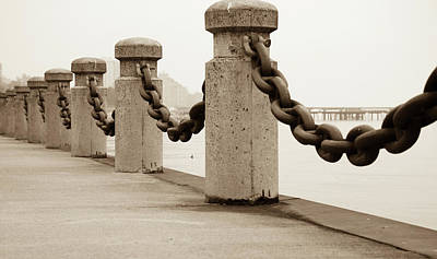 Photograph - Chain Connection by Nick Mares