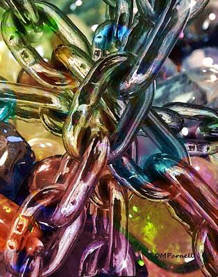 Chains And Rocks Art Print
