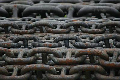 Chains Art Print by Hans Jankowski
