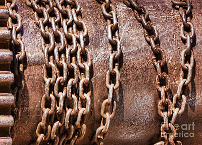 Photograph - Chains by Traci Cottingham
