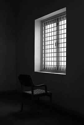 Photograph - Chair Against The Window by Prakash Ghai