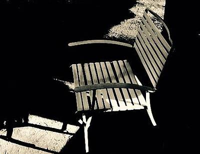 Photograph - Chair At Green Lake by Susan Detroy