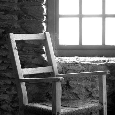 Chair By Window - Ireland Art Print by Mike McGlothlen