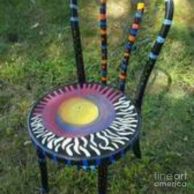 Photograph - Chair by Michelle Jacobs-anderson