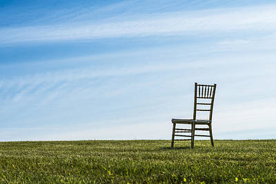 Chair On A Hill Original