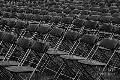 Photograph - Chair Patterns by Jim Corwin