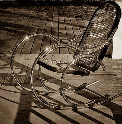 Photograph - Chair by Samuel M Purvis III