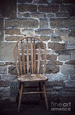 Creepy Mixed Media - Chair by Svetlana Sewell