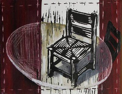 Chair Vi Art Print by Peter Allan