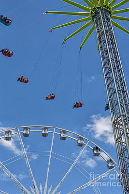 Photograph - Chairoplane by Patricia Hofmeester
