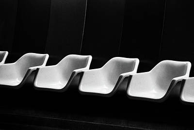 Photograph - Chairs by Alessandro Vecchi