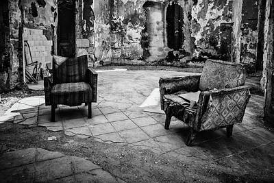 Photograph - Chairs, Study #2 by Yancho Sabev