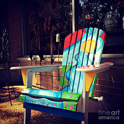 Photograph - Chairs With A Purpose by Frank J Casella
