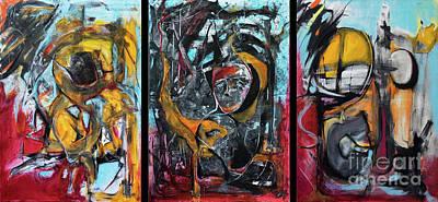 Painting - Chaiyim - Harmonics Of Energy by Nicole Philippi