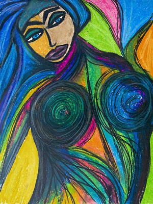 Painting - Chakira by Christine Regan Lake