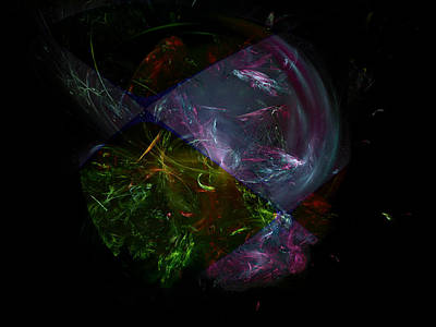 Digital Art - Chakra Invocation by Jeff Iverson