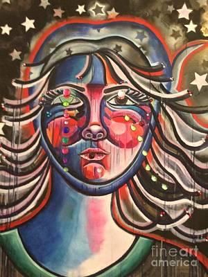 Painting - Chakra Portrait by Katie McGuire