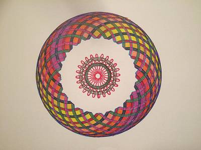Mixed Media - Chakra Study 1  by Steve Sommers