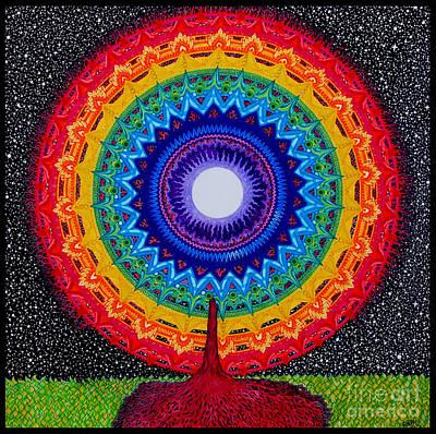 Chakra Tree Of Life Art Print