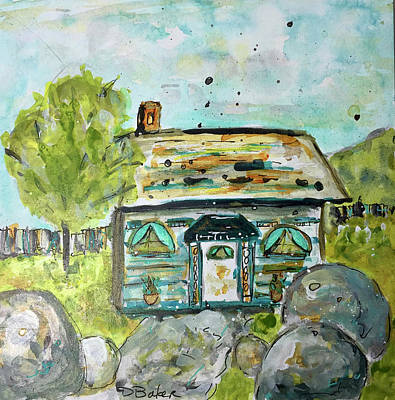 Painting - Chalet by Dolores Baker