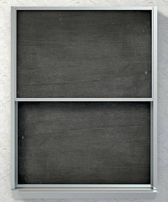 Chalk Board Render Art Print