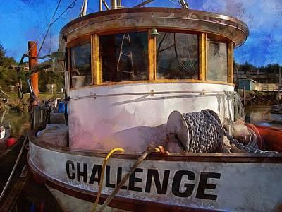 Photograph - Challenge by Thom Zehrfeld
