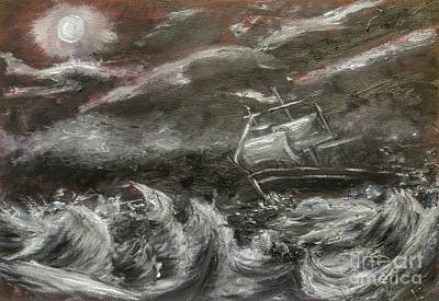 Speed Boat Painting - Challenged by YoursByShores Isabella Shores