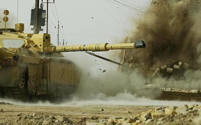 Challenger Digital Art - Challenger 2 Tanks-219 by Jovemini ART