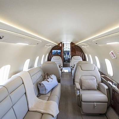 Jet Photograph - ⚜challenger 350 Jet Interior ⚜ || by JD Nyseter
