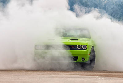 Photograph - Challenger Smoke by Dan Beauvais