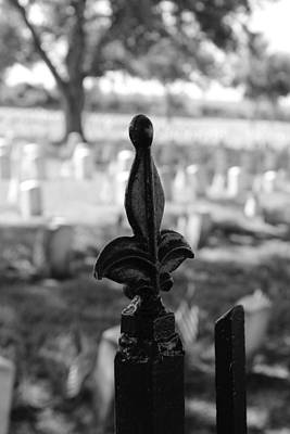 Photograph - Chalmette National Cemetery by Beth Vincent