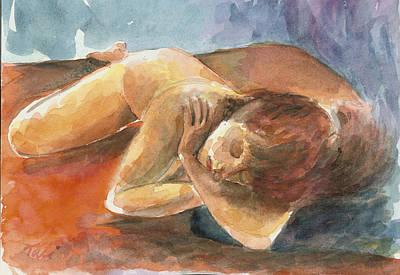 Chalom Parua Art Print by Tali Farchi