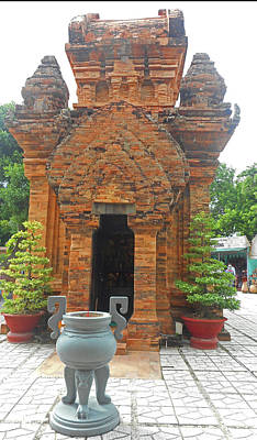 Photograph - Cham Towers 8 by Ron Kandt