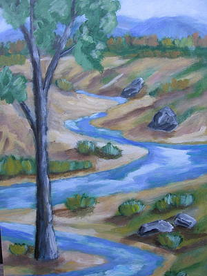 Chama River Painting - Chama River 2 by David Delaney