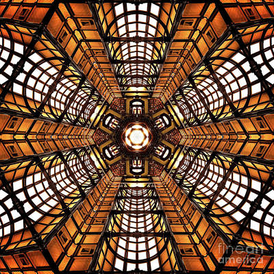 Digital Art - Chamber Of Gold by Phil Perkins