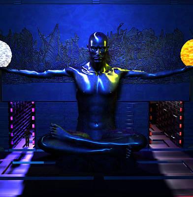 Robert Matson Digital Art - Chamber Of Thought by Robert Matson
